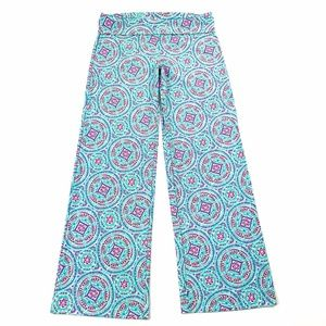 NWT Helen Jon Mandalay Fold Over Pants L